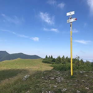 David na vrcholu Skalky (20.7.2020 9:38)