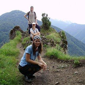 Iveta Válová na vrcholu Sokolie (7.7.2008)