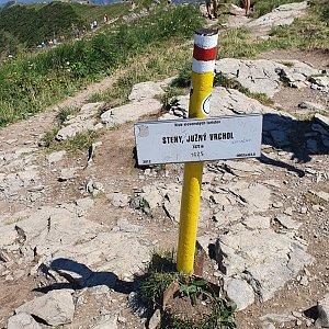 p_e_t_r_95 na vrcholu Steny, južný vrchol (8.8.2020)