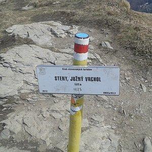 ŠenovKK na vrcholu Steny, južný vrchol (26.4.2019 12:33)