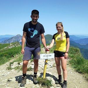 Fíkus na vrcholu Steny, južný vrchol (30.6.2019 12:58)