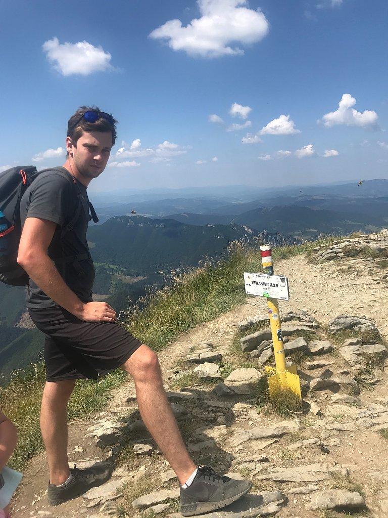 Barbora Dreslerová na vrcholu Steny (4.8.2018 12:15)
