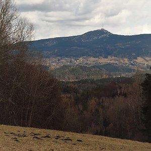 Iveta Válová na vrcholu Zábrdský kopec JV (28.3.2021 13:20)