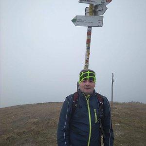 Vítězslav Vrána na vrcholu Stoh (12.11.2018 11:46)