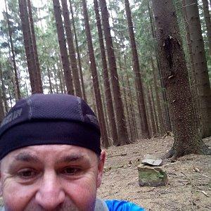 Li Be na vrcholu Gruník (16.9.2021 11:25)