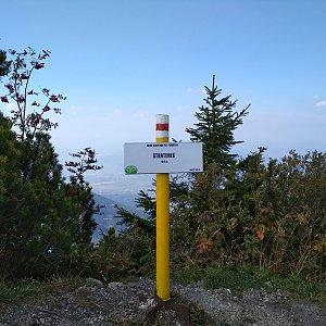 Katka na vrcholu Stratenec (21.9.2018 13:50)