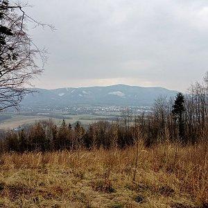 Iva Purmenská na vrcholu Tichavská hůrka V (27.3.2021 14:52)