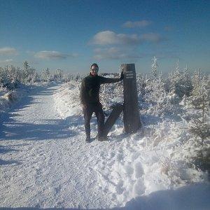 Bartek_na_cestach na vrcholu Magura (10.1.2021 16:29)