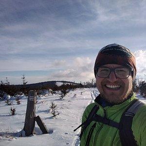 pa3k.soyka na vrcholu Magura (21.1.2021 14:02)