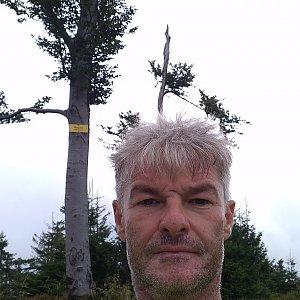 Jaroslav Macura na vrcholu Magura (29.8.2021 10:38)