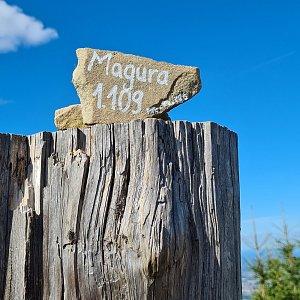 Katka na vrcholu Magura (5.9.2021 15:17)