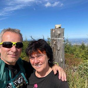 Radek na vrcholu Magura (5.9.2021 19:44)