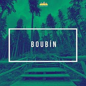 David RUBU TÚRY na vrcholu Boubín (4.7.2021 11:12)