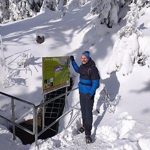 Petr Bartoň na vrcholu Jaskinia Malinowska (31.1.2021 19:44)