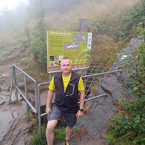 Michael na vrcholu Jaskinia Malinowska (26.8.2021 11:20)