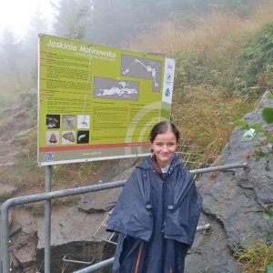 bebe na vrcholu Jaskinia Malinowska (26.8.2021 11:35)