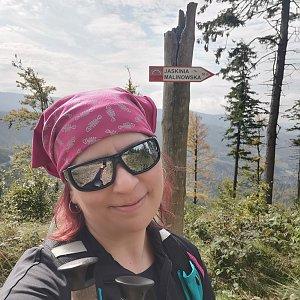 Daniela Vajsová na vrcholu Jaskinia Malinowska (28.9.2021 10:38)