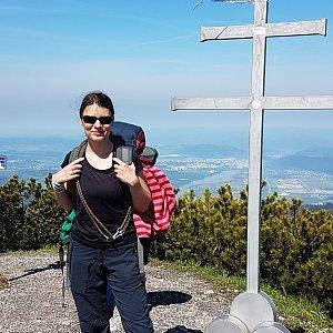 Michal na vrcholu Suchý (25.5.2019 10:20)