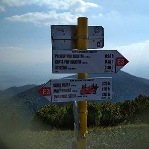 Katka na vrcholu Suchý (21.9.2018 14:42)