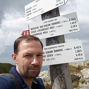 Michal na vrcholu Chabenec (14.8.2020 14:29)