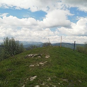 Anna na vrcholu Kozí chrbát (2.6.2019 13:37)