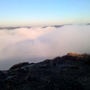 Anna na vrcholu Velký vrch (9.10.2021)