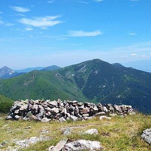 PeteBukař na vrcholu Malý Kriváň (1.7.2019 12:30)