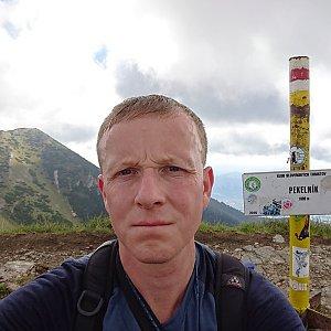 Lukáš Žídek na vrcholu Pekelník (13.9.2019 11:17)