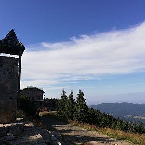 Martin Vlček na vrcholu Šerák (25.7.2019 17:41)