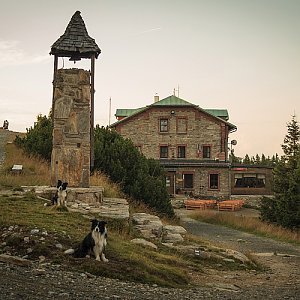 Jitka Procházková na vrcholu Šerák (5.8.2019 10:37)