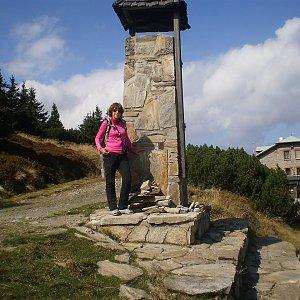 Vlasta a Zdena na vrcholu Šerák (15.9.2018 10:31)