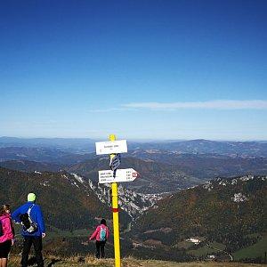 Pepino na vrcholu Poludňový grúň (15.10.2019 11:15)