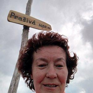 Anna na vrcholu Prašivá (2.6.2019 11:11)