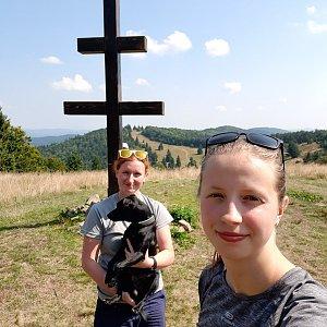 V+V Soklíci na vrcholu Veľký Javorník (31.8.2019 12:46)