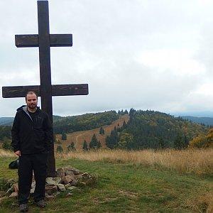 Jiří Chmiel na vrcholu Veľký Javorník (28.9.2019 10:44)