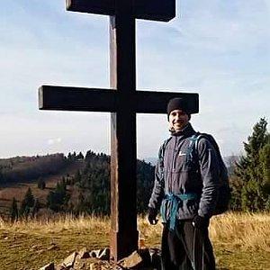 David Bunny Beil na vrcholu Veľký Javorník (17.11.2019 12:30)
