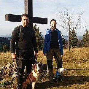 Markéta Čeníková na vrcholu Veľký Javorník (17.11.2019 12:30)