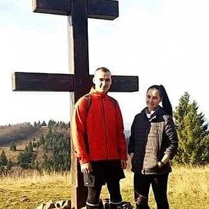 Jiří Tkáč na vrcholu Veľký Javorník (17.11.2019 12:30)