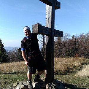 Jakub Špaček na vrcholu Veľký Javorník (26.10.2019 15:03)