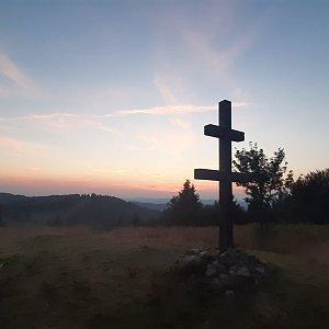 Kubas na vrcholu Veľký Javorník (9.8.2020 20:06)