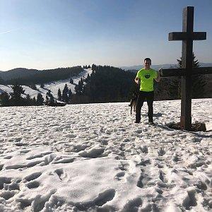 Pospa na vrcholu Veľký Javorník (23.3.2019 14:53)