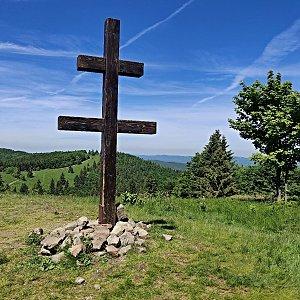 Pavel Martínek na vrcholu Veľký Javorník (15.6.2021 10:42)