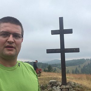 Radim Škrabánek na vrcholu Veľký Javorník (23.7.2019 11:57)