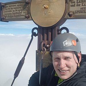 michal čech na vrcholu Grossglockner (15.8.2020 10:20)