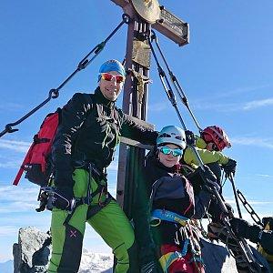 Martin Horáček na vrcholu Grossglockner (9.9.2018 9:05)