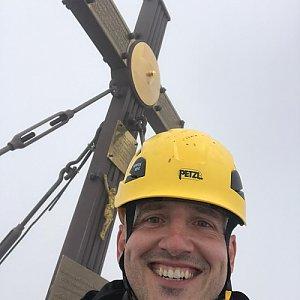 koc256 na vrcholu Grossglockner (22.7.2017 13:54)