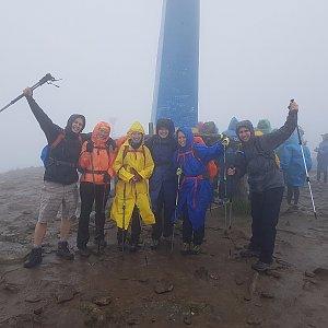 Zrzatica na vrcholu Hoverla (29.6.2018 14:35)