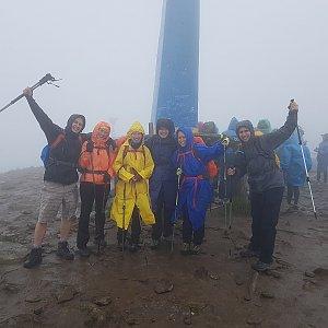 Denisa na vrcholu Hoverla (29.6.2018 14:00)