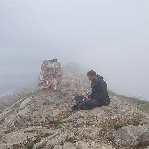 koc256 na vrcholu Velký Korab (10.7.2015 10:43)
