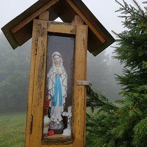 Jana F na vrcholu Lopůnka (19.9.2021 11:29)
